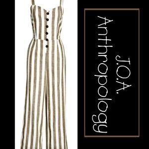 🆑Final$55-Anthropology J.O.A. Tie backing Linen